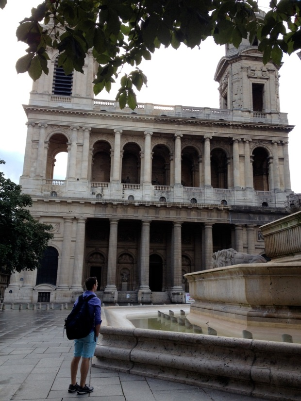 St. Sulpice, just north of the Luxembourg Gardens, is home to the largest of the great 19th-century French organs. Widor and Vierne worked there. This was our first glimpse of European church architecture, a wonder I will never finish digesting.