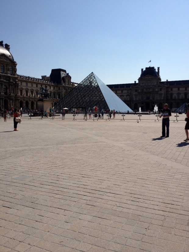 "We ""saw"" the Louvre..."