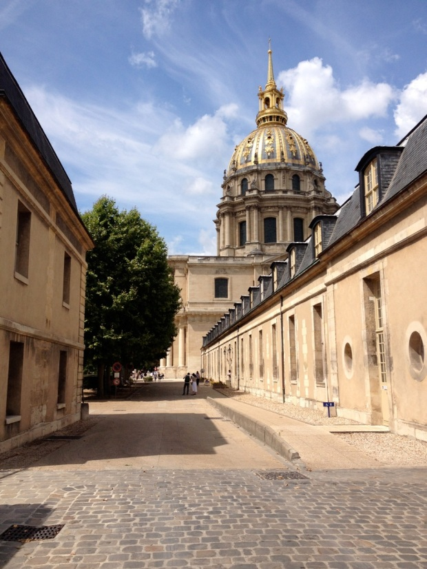 Les Invalides was such an integral part of the landscape for us, located so close to our hotel, that we complete took it for granted and never even thought to visit it...