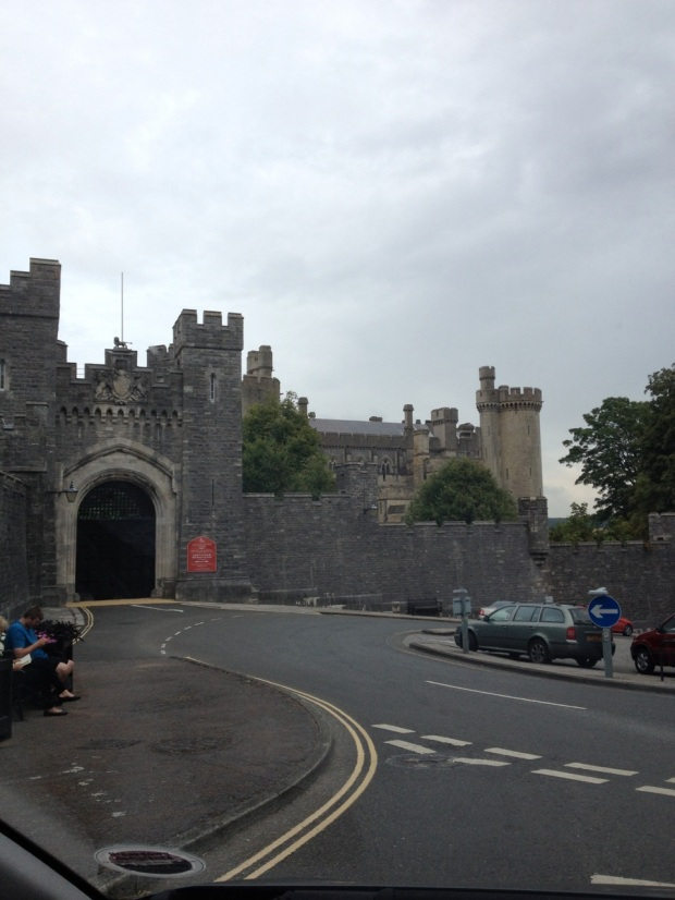 Arundel Castle's gate