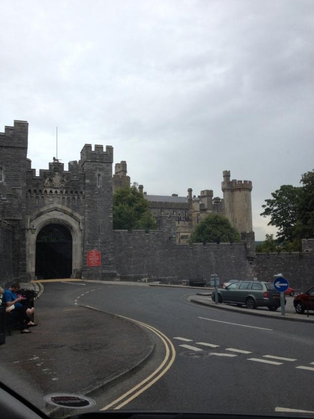Arundel Castle's gate