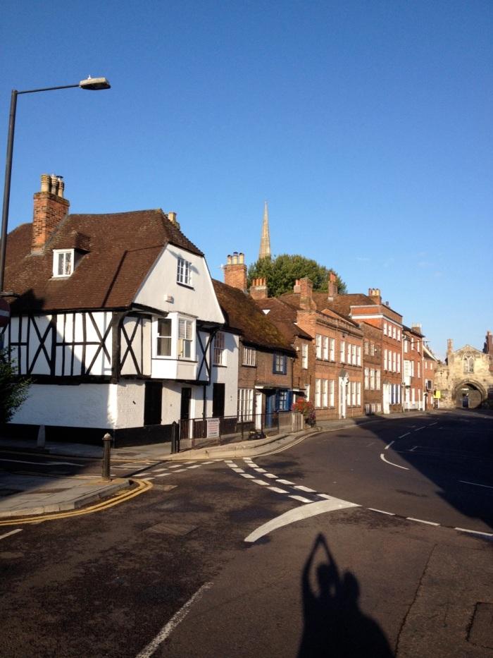 A bit of the quaint Salisbury