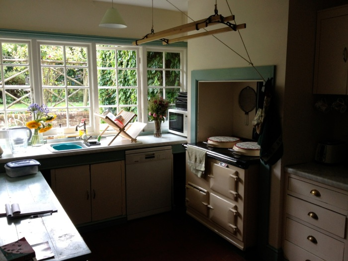This was Lewis's stove, the center of life in his house since it kept them warm.