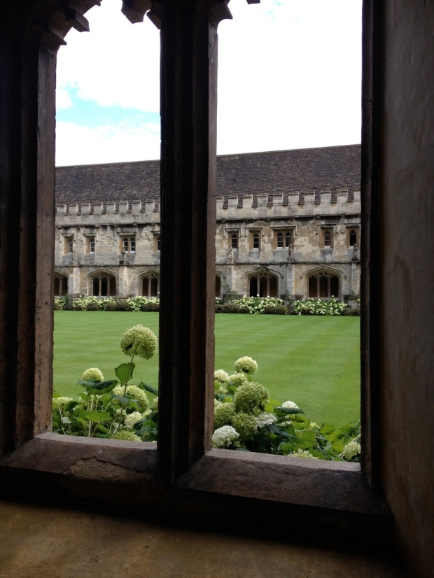 The next twenty photos are from Magdalen College, one of the best things I saw in Europe.