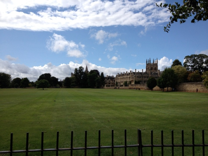 This is Christ College Meadow