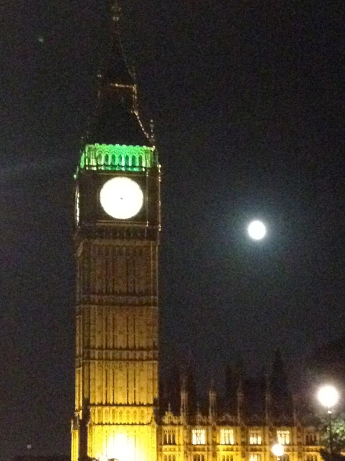"Big Ben and ""Leh Moooon."""