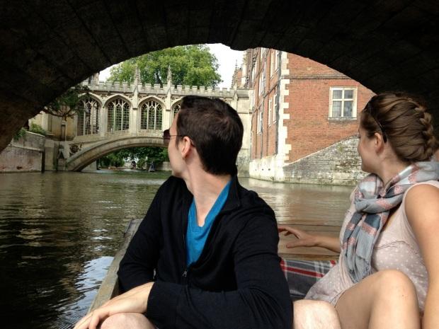 Bridge of Sighs, Cambridge edition