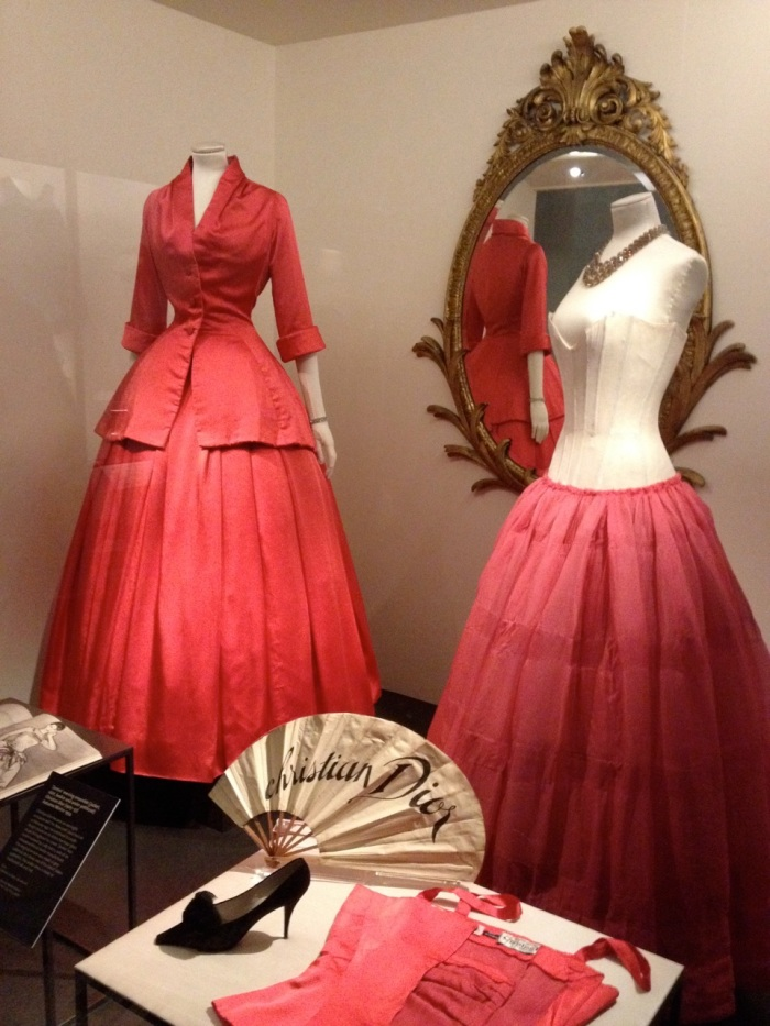 We also saw a few interesting History of Fashion displays