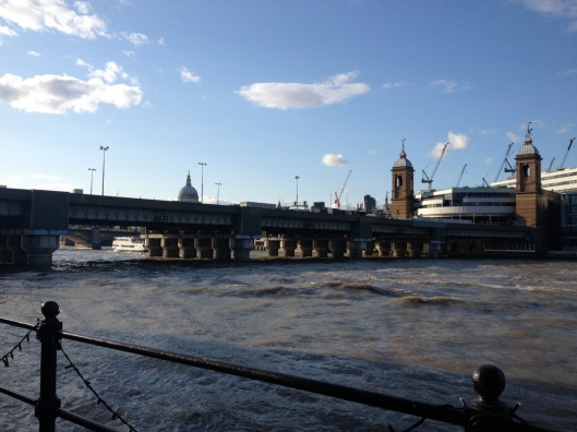 A perfect summer afternoon and evening, on the banks of the Thames