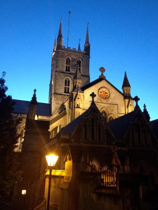 Southwark by night
