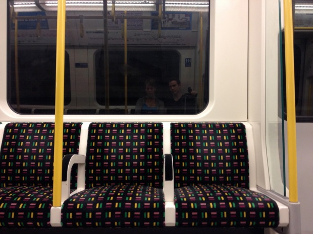 Riding the empty tube before the crack of dawn...