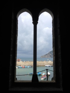 This was the view through the church window.