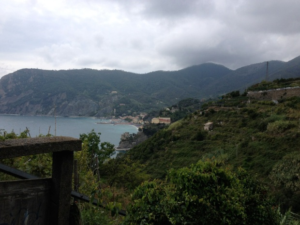 Monterosso is the northernmost village.