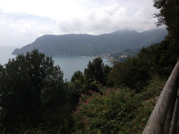 View towards Monterosso again...