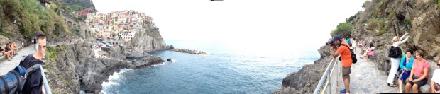 Manarola's harbor