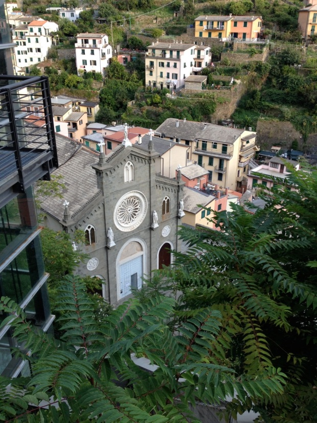 We saw three churches on our short exploration of Riomaggiore.