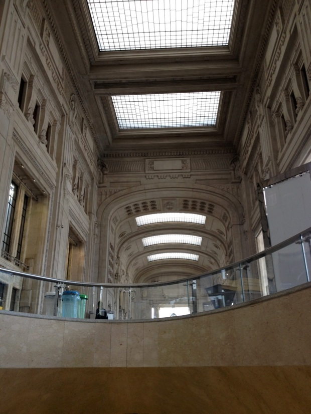 Inside Milano Centrale Station