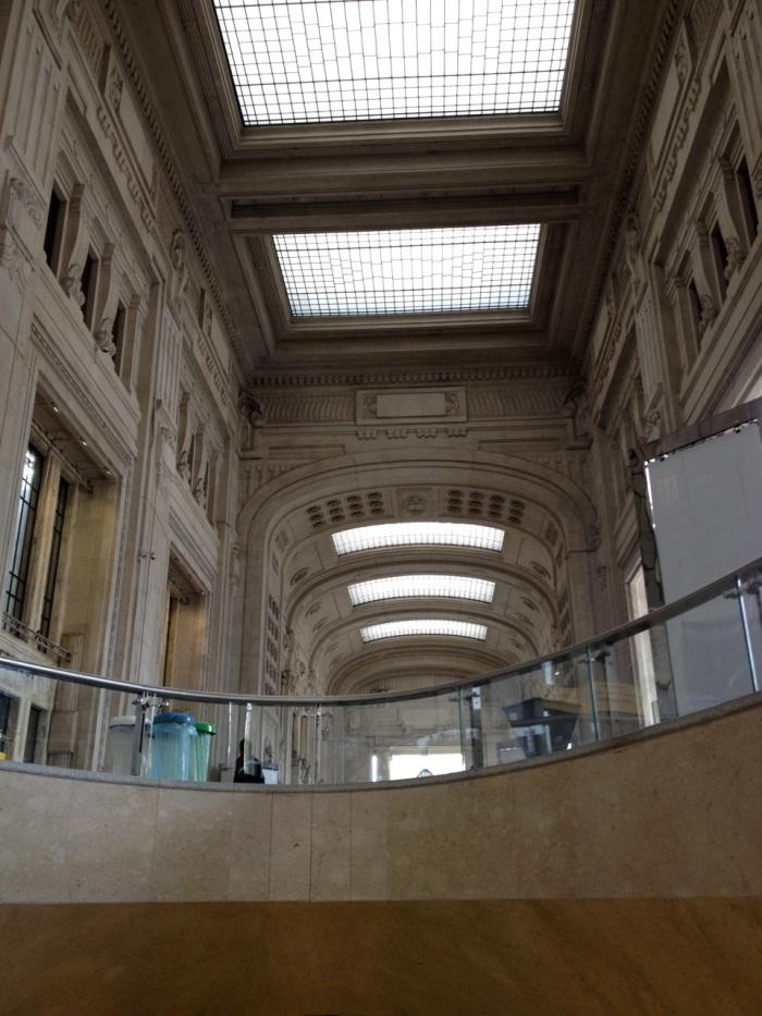 Inside Milano Centrale Station